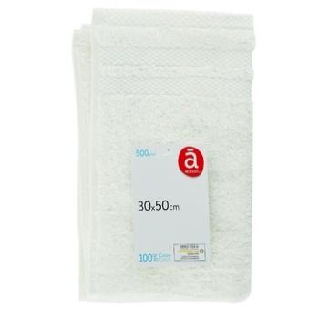 Полотенце Actuel OW хлопок 500GSM 30*50см - купить, цены на Ашан - фото 1