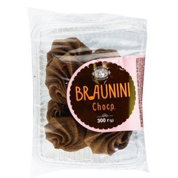 Boguslavna Brownini Cookies with Chocolate Flavor 300g - buy, prices for Auchan - photo 1