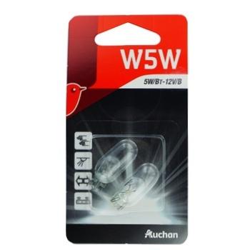 Автолампа Ашан W5W 5Вт 12В - купити, ціни на Ашан - фото 1