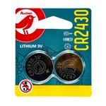 Auchan Battery CR2430 2pcs