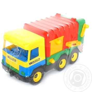 Игрушка мусоровоз Middle Truck - купить, цены на СитиМаркет - фото 1