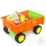 Іграшка візок з н-ром до піску Wader 10952