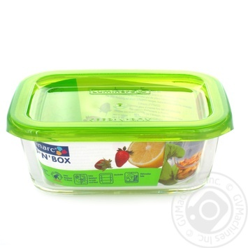 Food Storage Box Luminarc For Food Products 370ml