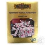 Комплект постельного белья Zаstelli Сакура 1,5-спальный микросатиновый