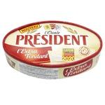 Сыр мягкий President l'Extra Fondant 60% 200г - купить, цены на Метро - фото 1