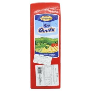 Сыр Wloszczowa Гауда брус 45%