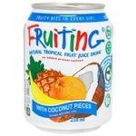 Напій Фрутінг з соком тропічних фруктів 238мл - купити, ціни на Ашан - фото 1