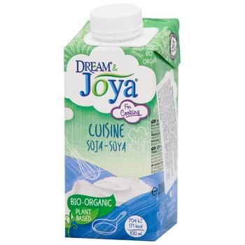 Joya Organic Culinary Soy Cream 200ml - buy, prices for CityMarket - photo 1