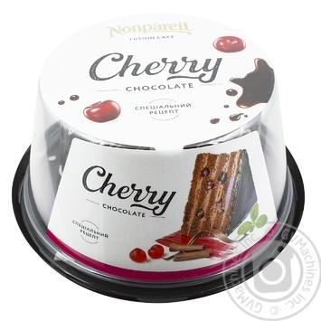 Торт Nonpareil шоколадна вишня 600г - купити, ціни на МегаМаркет - фото 1