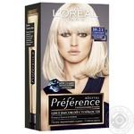 Краска для волос L'Oreal Recital Preference 10.21 Стокгольм светло-светло-русый перламутровый осветляющий