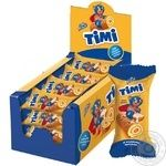 Konti Timi with condensed milk mini-roll biscuit 50g - buy, prices for Novus - image 1