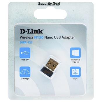 Адаптер Wi-Fi  D-Link N150 бездротовий USB 2.0 - купити, ціни на Ашан - фото 1