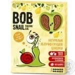 Конфеты Bob Snail яблочно-грушевые натуральные 120г - купить, цены на МегаМаркет - фото 1
