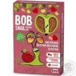 Конфеты Bob Snail натуральные яблочно-клубничные 60г - купить, цены на МегаМаркет - фото 1