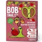 Конфеты Bob Snail яблочно-клубничные натуральные 120г - купить, цены на МегаМаркет - фото 1
