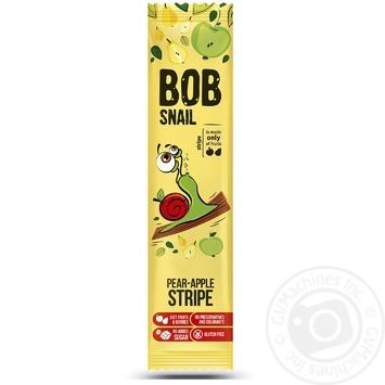Bob Snail fruit apple-pear сandy 14g - buy, prices for MegaMarket - image 1