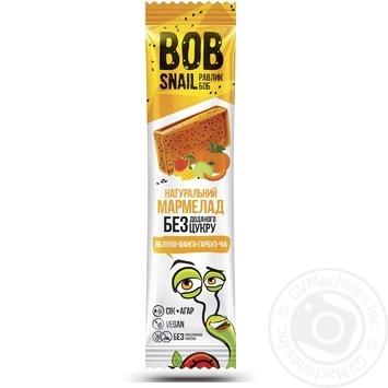 Bob Snail apple-mango-pumpkin-chia marmalade 38g - buy, prices for MegaMarket - image 1