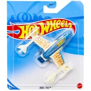 Іграшка Hot Wheels базовий літачок в асортименті - купити, ціни на УльтраМаркет - фото 3