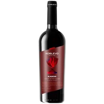 Вино червоне Коблево Кагор Український виноградне ординарне десертне спеціального типу солодке 16% 750мл - купити, ціни на ЕКО Маркет - фото 1