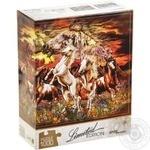 Пазлы Step Limited Edition Найди 16 лошадей 1000эл.