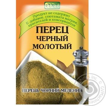 Перец Edel черный молотый 25г - купить, цены на Novus - фото 1
