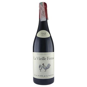 La Vieille Ferme Perrin et Fils Red Dry Wine 13.5% 0.75l - buy, prices for CityMarket - photo 1