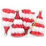 Set of New Year's Decorations 11cm 4pcs SYQD-012145