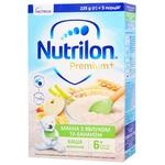 Каша молочная Nutrilon Premium + Манная с яблоком и бананом сухая для детей с 6 месяцев 225г
