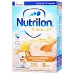 Каша молочна Nutrilon Premium + Мультизлакова з печивом суха для дітей з 8 місяців 225г