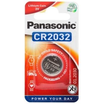 Батарейка Panasonic Lithium Power CR2032 - купить, цены на Ашан - фото 1