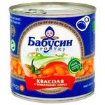 Фасоль Бабушкин продукт белая в томатном соусе 420г