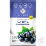 Чай фруктово-медовий Асканія Чорна смородина концентрат 50г