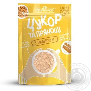 Сахар с имбирем Pripravka 200г - купить, цены на Novus - фото 1