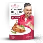 Натуральная приправа Pripravka для курицы Кулинарный Шедевр 30г - купить, цены на Novus - фото 1