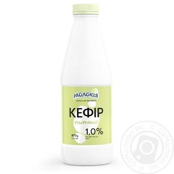 Кефир Молокія питьевой 1% 870г - купить, цены на Фуршет - фото 2
