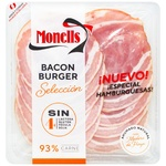 Monells Slicing Bacon for Burgers140g