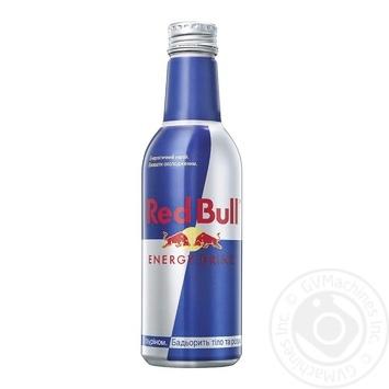 Напій енергетичний Red Bull безалкогольний 0,33л - купити, ціни на МегаМаркет - фото 1
