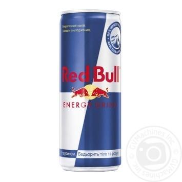 Напиток энергетический Red Bull 0.25л - купить, цены на Novus - фото 1