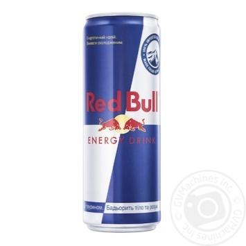Напій енергетичний Red Bull 0,355л - купити, ціни на МегаМаркет - фото 1