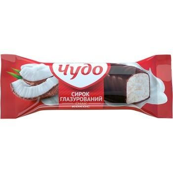 Сырок Чудо с кокосом глазированный 15% 36г - купить, цены на Фуршет - фото 2