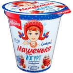 Romol Mashenka Wild Strawberry Jam Flavored Yogurt 5% 270g