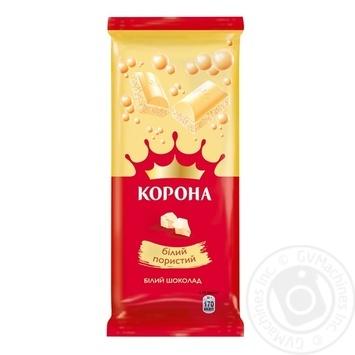 Korona air white chocolate 80g - buy, prices for Novus - image 1