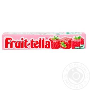 Конфеты жевательные Fruittella Клубника 41г - купить, цены на Novus - фото 1