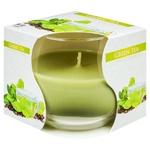 Свічка Bispol зелений чай