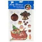 PioneR Christmas Sticker Glows in the Dark 25x18cm assortment