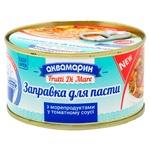 Akvamarin with seafood in tomato sauce pasta 185g
