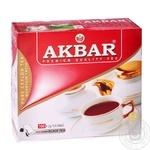 Чай черный Akbar 100пак*2г