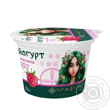 Йогурт Галичина Мавка малина 2,5% 170г