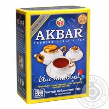 Чай чорний Akbar Blue Amethyst крупнолистовий 100г