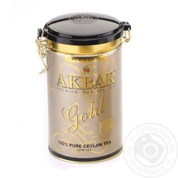 Tea Akbar black loose 450g can - buy, prices for MegaMarket - image 1